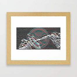 Cap and The Winter Soldier 2 Framed Art Print