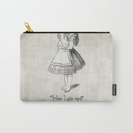 Have I Gone Mad Quote Carry-All Pouch