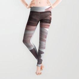 Ink Abstract Minimalism Glam #1 #minimal #ink #decor #art #society6 Leggings