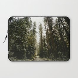 Redwood Forest Adventure III - Nature Photography Laptop Sleeve