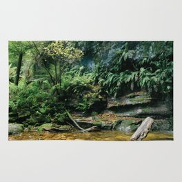 Forest lagoon Rug