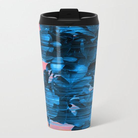 Velocious Blue Little Tree Metal Travel Mug