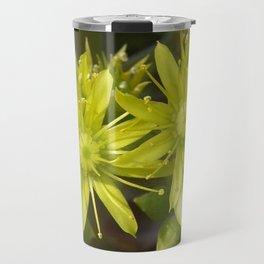 Blooming Green Travel Mug