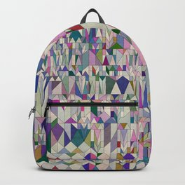 Architecture in Pink Backpack