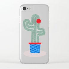This is me, the cactus Clear iPhone Case