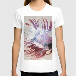 Red Betta Fish Fins T-shirt