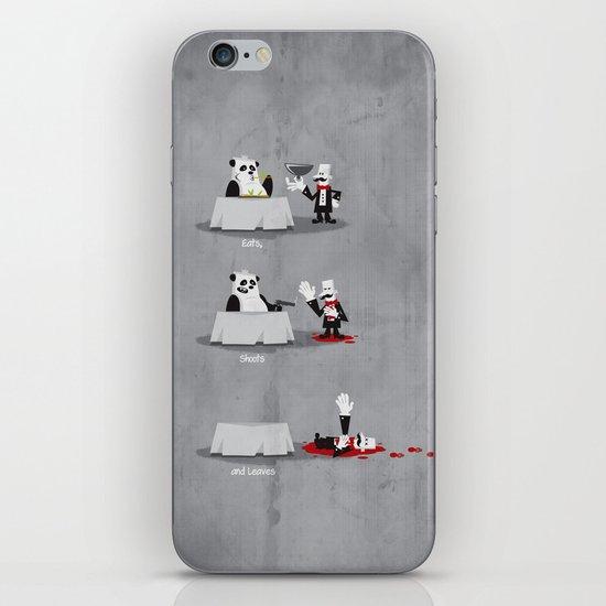 Eating Habits of the Panda iPhone & iPod Skin