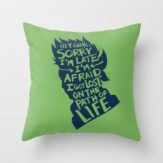 Will of Team 7 [Green-Alt] Throw Pillow