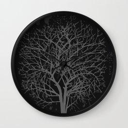 Vintage tree Wall Clock