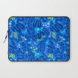 Nectarine Concord - Playful Abstract Shapes_003 Laptop Sleeve
