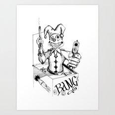 Jack (Gunslinger in a Box) Art Print