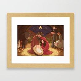 A Child is Born Framed Art Print