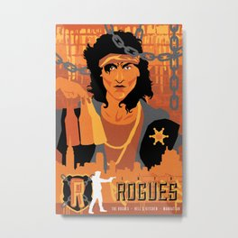 THE WARRIORS :: THE ROGUES Metal Print