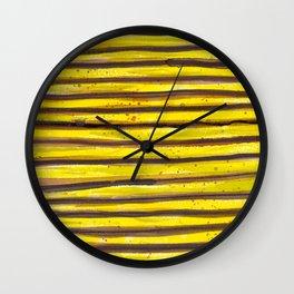 BUMBLE BEE SWIRL Wall Clock