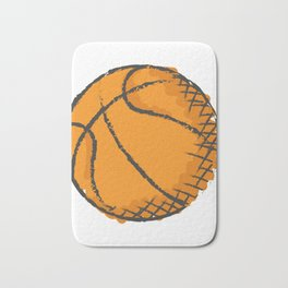 Basketball Best Basketball Player & Fan Gift Bath Mat