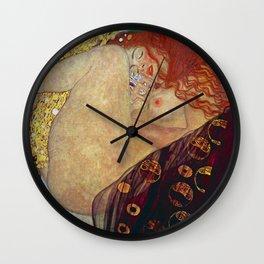 "Gustav Klimt, "" Danae "" Wall Clock"