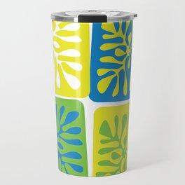 Four Coral Travel Mug