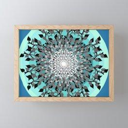 Iris Branches Framed Mini Art Print