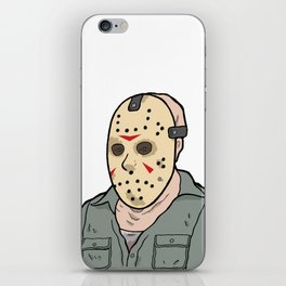 Jason Voorhees part 3 iPhone Skin