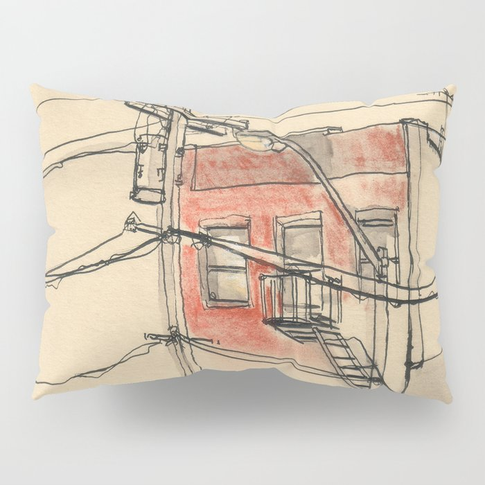 Wires Pillow Sham