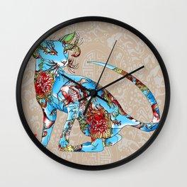 Geisha's MODERN Cats >>>>>> GENDER>>>KOITOE Wall Clock
