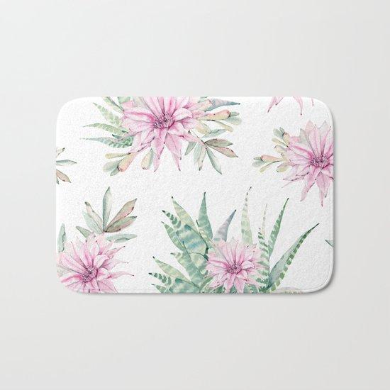 Simply Cactus Desert Rose Bath Mat