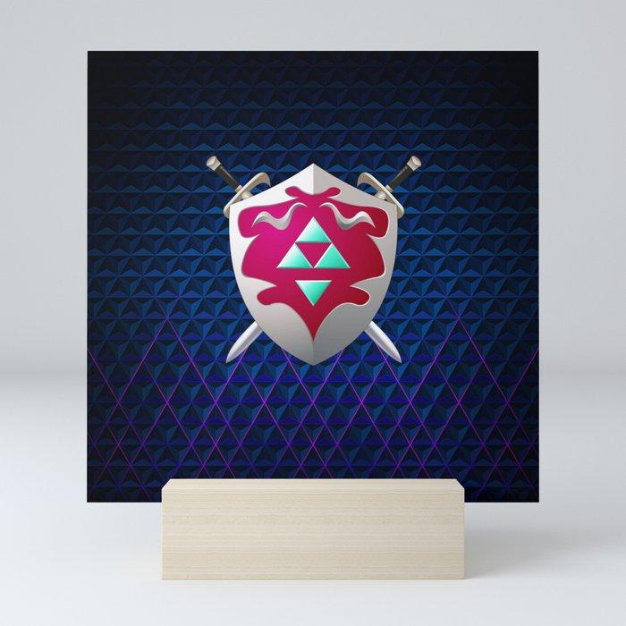 legend of zelda shield Mini Art Print