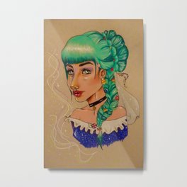 Candy Princess Metal Print