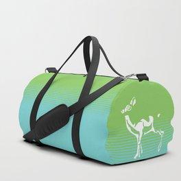 Spring is in the air deer 2 Duffle Bag