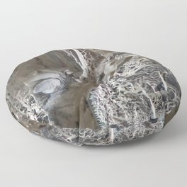 Silver Crystal First Floor Pillow