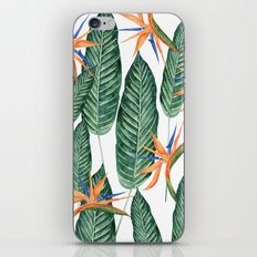 Banana And Flowers #society6 iPhone Skin