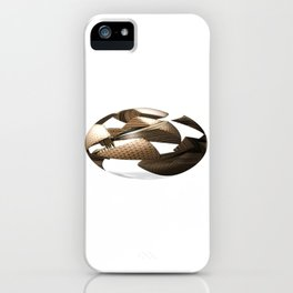 Sliced Sphere iPhone Case