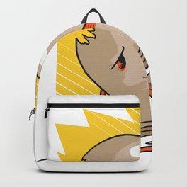 Sad Light bulb Backpack