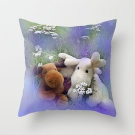 you're not alone Throw Pillow