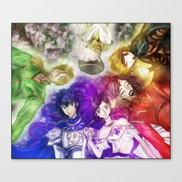 The Six Canvas Print