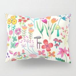 The Odd Floral Garden I Pillow Sham