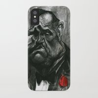 the godfather iPhone & iPod Cases featuring The Godfather by MK-illustration