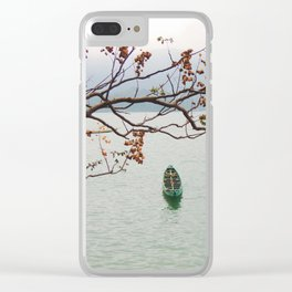 row a boat Clear iPhone Case