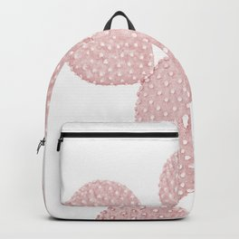 Blush Pink Cactus Backpack