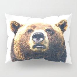 Bear portrait Kissenbezug