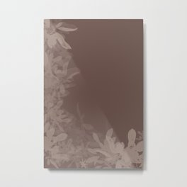 Mocca and Cream Metal Print