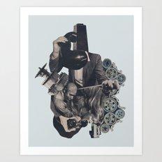 Aftershock Art Print