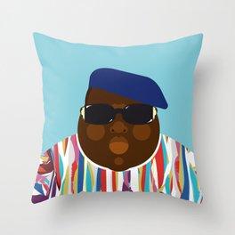 Notorious V Throw Pillow