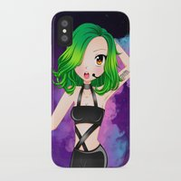 artrave iPhone & iPod Cases featuring artRAVE Aura by Aldo Monster