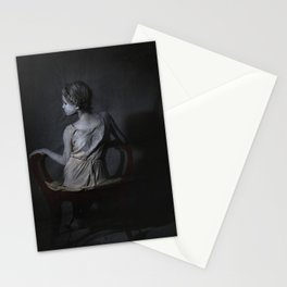 She, as a Ghostly Echo Stationery Cards