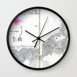 diary // milky way Wall Clock