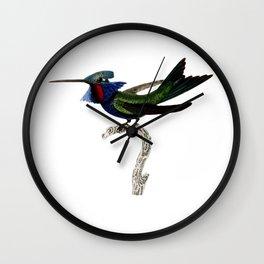 Angel Hummingbird Wall Clock