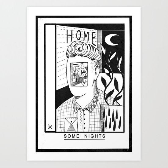 Some Nights  Art Print