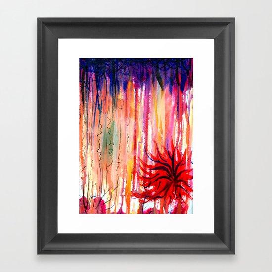 manalone Framed Art Print