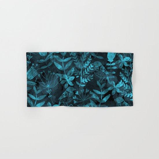 Watercolor Floral & Birds IV Hand & Bath Towel